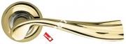 Ручка дверная раздельная Armadillo Laguna LD85-1GP/CP-2