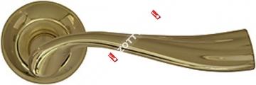 Ручка дверная раздельная Armadillo Laguna LD85-1GP/SG-5