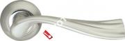 Ручка дверная раздельная Armadillo Laguna LD85-1SN/CP-3