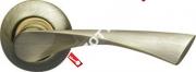 Ручка дверная раздельная Armadillo Corona LD23-1AB/GP-7 (Бронза/золото)
