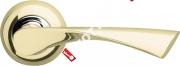 Ручка дверная раздельная Armadillo Corona LD23-1GP/CP-2