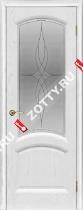 Межкомнатные двери Ульяновские двери ЛАУРА (Стекло Жемчужный Ясень)