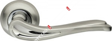 Ручка дверная раздельная Armadillo Octan LD64-1SN/CP-3