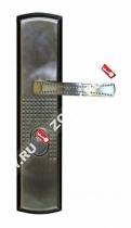 Ручка для Китайских дверей на планке Стандарт + [автомат] Л