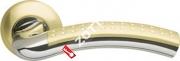 Ручка дверная раздельная Armadillo Libra LD26-1SG/CP-1