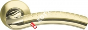 Ручка дверная раздельная Armadillo Libra LD26-1SG/GP-4