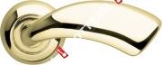 Ручка дверная раздельная Armadillo Leo LD56-1GP/SG-5