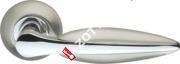 Ручка дверная раздельная Armadillo Lacerta LD58-1SN/CP-3