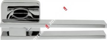 Ручка дверная раздельная Armadillo BRISTOL SQ006-21CP-8 (Хром)