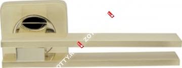 Ручка дверная раздельная Armadillo BRISTOL SQ006-21SG/GP-4