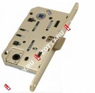 B01102.35.03 MEDIANA EVOLUTION узкопрофильный замок AGB с отверстием под фиксатор (санузловой)