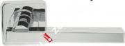 Ручка дверная раздельная Armadillo ORBIS SQ004-21CP-8 (Хром)