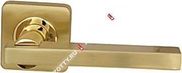 Ручка дверная раздельная Armadillo ORBIS SQ004-21SG/GP-4