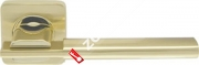 Ручка дверная раздельная Armadillo TRINITY SQ005-21SG/GP-4