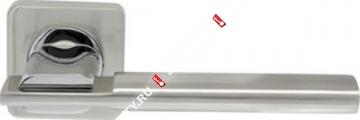 Ручка дверная раздельная Armadillo TRINITY SQ005-21SN/CP-3