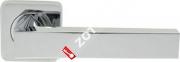 Ручка дверная раздельная Armadillo CORSICA SQ003-21CP-8 (Хром)