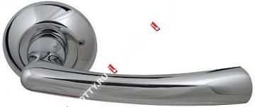 Ручка дверная раздельная Fuaro GAMMA RM CP-8