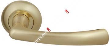 Ручка дверная раздельная Fuaro GAMMA RM SG/GP-4