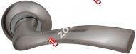Ручка дверная раздельная Fuaro BELL RM SN/CP-3