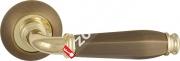 Ручка дверная раздельная Fuaro ENIGMA RM AB/GP-7