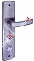Ручка для китайских дверей Ferre FL-6232 (Без подсветки) L 01-00000115 (Никель/хром)