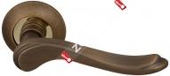 Ручка дверная раздельная Fuaro GRAZIA RM AB/GP-7