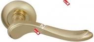 Ручка дверная раздельная Fuaro GRAZIA RM SG/GP-4