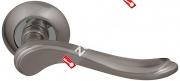 Ручка дверная раздельная Fuaro GRAZIA RM SN/CP-3