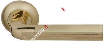 Ручка дверная раздельная Fuaro LARGO RM SG/GP-4