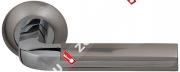 Ручка дверная раздельная Fuaro LARGO RM SN/CP-3