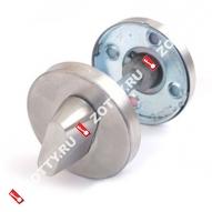 Ручка поворотная с индикатором Apecs WC-0206-INOX (Нерж. сталь)