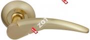 Ручка дверная раздельная Fuaro NOTA RM SG/GP-4