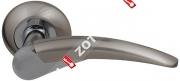 Ручка дверная раздельная Fuaro NOTA RM SN/CP-3