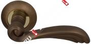 Ручка дверная раздельная Fuaro OPERA RM AB/GP-7