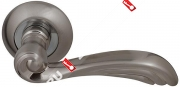 Ручка дверная раздельная Fuaro OPERA RM SN/CP-3