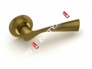 Ручка дверная раздельная Fuaro PRIMA RM AB/GP-7