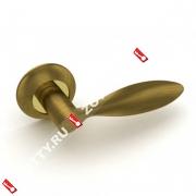 Ручка дверная раздельная Fuaro VIOLA RM AB/GP-7