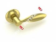 Ручка дверная раздельная Fuaro VIOLA RM GP/SG-5