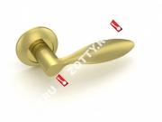 Ручка дверная раздельная Fuaro VIOLA RM SG/GP-4