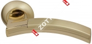 Ручка дверная раздельная Fuaro ACCORD RM SG/GP-4