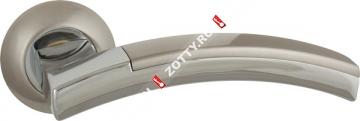 Ручка дверная раздельная Fuaro ACCORD RM SN/CP-3