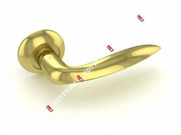 Ручка дверная раздельная Fuaro FANTASIA RM GP/SG-5
