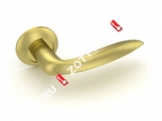 Ручка дверная раздельная Fuaro FANTASIA RM SG/GP-4