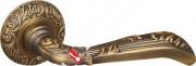 Ручка дверная раздельная Fuaro BOHEMIA SM AB-7 (Матовая бронза)