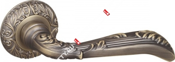 Ручка дверная раздельная Fuaro BOHEMIA SM MAB-6