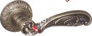 Ручка дверная раздельная Fuaro BRILLIANT SM MAB-6 (Темная бронза)