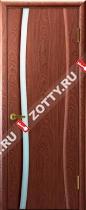 Межкомнатные двери Ульяновские двери ДИАДЕМА 1 Красное Дерево