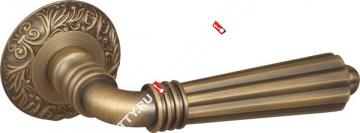 Ручка дверная раздельная Fuaro DEMETRA SM AB-7 (Матовая бронза)