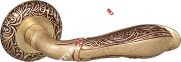 Ручка дверная раздельная Fuaro DINASTIA SM RB-10 (Французское золото)