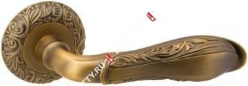Ручка дверная раздельная Fuaro DINASTIA SM AB-7